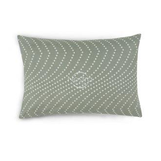 Flanelės pagalvės užvalkalas su užtrauktukais 30-0508-GREY