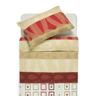 Seersucker bedding set EDIE 40-1061-RED