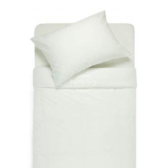 Постельное бельё из сатина AFRAFINA 60-0002-WHITE ON WHITE