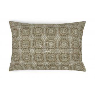 Flanelės pagalvės užvalkalas su užtrauktukais 40-1044-L.CACAO