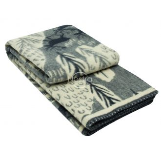 Шерстяное одеяло из мэриноса 80-3180-BLUE
