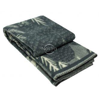 Шерстяное одеяло из мэриноса 80-3180-GREY