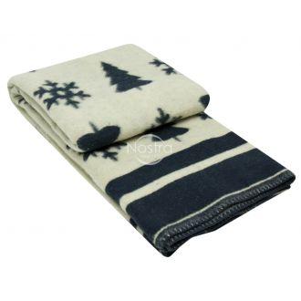 Одеяло из шерсти МЕРИН 80-3189-BLUE