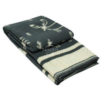 Одеяло из шерсти МЕРИН 80-3190-DARK GREY