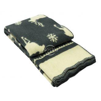 Blanket MERINO 80-3191-DARK GREY