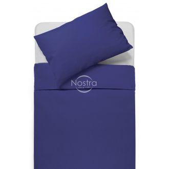 Cotton bedding set DOTTY 00-0317-DARK BLUE