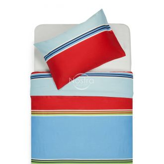 Sateen bedding set ADETTE 30-0428-BLUE