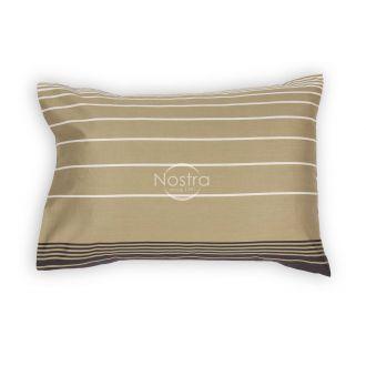 Satino pagalvės užvalkalas 40-0884-BROWN