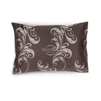 Satino pagalvės užvalkalas 40-0739-BROWN