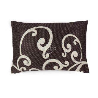 Satino pagalvės užvalkalas 40-0677-BROWN