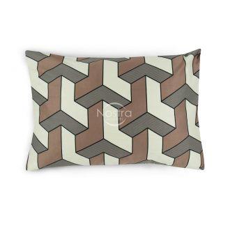 Satino pagalvės užvalkalas 30-0504-CACAO