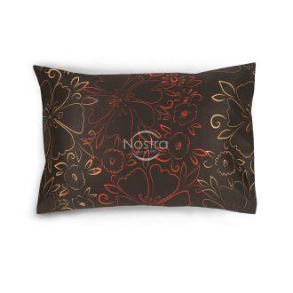 Satino pagalvės užvalkalas 20-1446-CHOCO