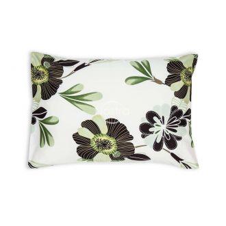 Satino pagalvės užvalkalas 20-1390-GREEN