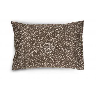 Satino pagalvės užvalkalas 20-0750-BROWN