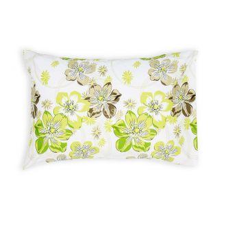 Satino pagalvės užvalkalas 20-1347-GREEN