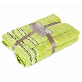 3 dalių rankšluosčių komplektas T0044 T0044-GRASS