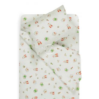 Children bedding set SLEEPING BABY 10-0362-GREEN