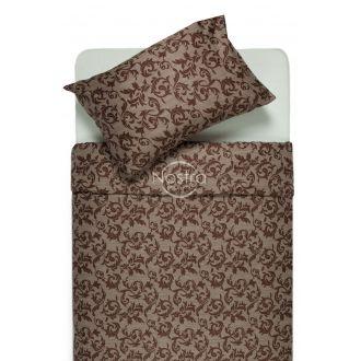 Постельное бельё из сатина ALANNA 40-0567-BROWN