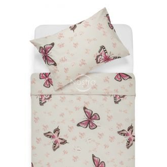 Cotton bedding set DANA 40-1043-BORDO