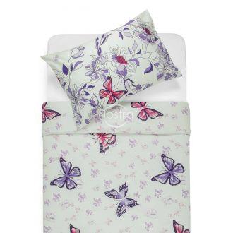 Cotton bedding set DANA 40-1043-VIOLET
