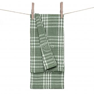 Кухонное полотенце WAFEL-240 T0101-GREEN