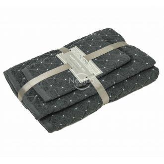 3 dalių rankšluosčių komplektas T0107 T0107-ANTRACITE