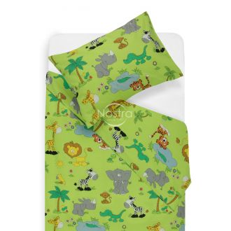 Children bedding set AFRICA 10-0083-GREEN