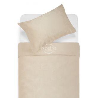 Artificial silk bedding set OPHELIA 80-0018-CREAM