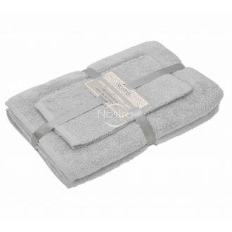3 pieces towel set 380 ZERO TWIST 380 ZT-L.GREY 22