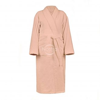 Chalatas VELOUR-430 430 BATHROBE-PINK