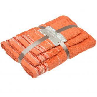 3 dalių rankšluosčių komplektas T0044 T0044-ORANGE