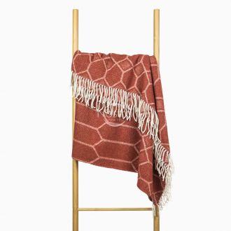 Woolen plaid MERINO-300 80-3237-TERRA