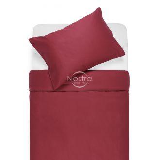 Постельное бельё из сатина ADELA 00-0023-WINE RED