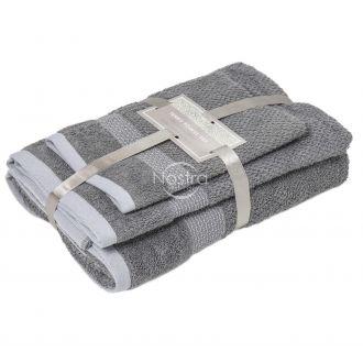 3 dalių rankšluosčių komplektas T0106 T0106-GREY M18