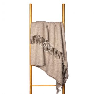 Woolen plaid MERINO-300 80-3137-BEIGE
