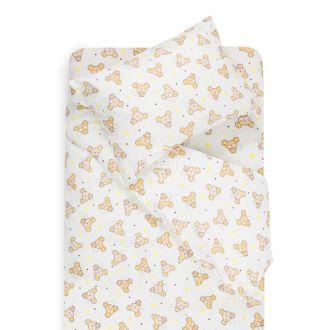 Детское фланелевое постельное белье SLEEPING MOUSE 10-0518-BEIGE