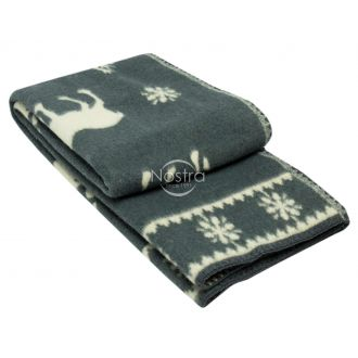 Blanket MERINO 80-3056-GREY