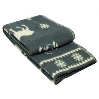Шерстяное одеяло из мэриноса 80-3056-GREY