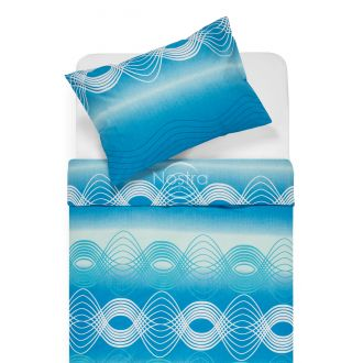 Cotton bedding set DERBY 30-0562-OCEAN BLUE