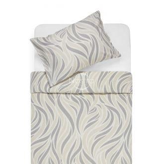Flannel bedding set BARBARA 30-0602-GREY