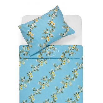 Flannel bedding set BLESSING 20-1550-BLUE