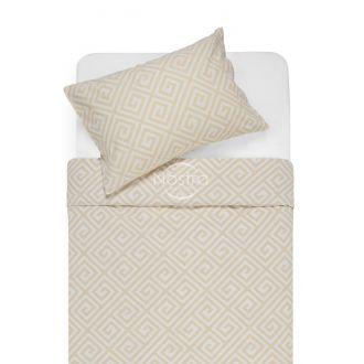 Flannel bedding set BRITTANY 30-0603-BEIGE