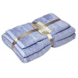 Bambukinių rankšluosčių komplektas BAMBOO-600 T0105-SOFT BLUE