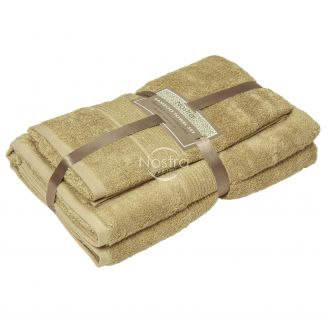 Бамбуковые набор полотенец BAMBOO-600 T0105-SAND
