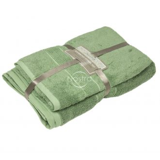 Bamboo towels set BAMBOO-600 T0105-MINERAL GREEN
