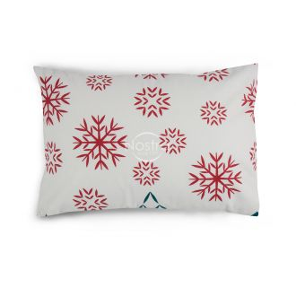 Flannel pillow cases with zipper 10-0550-RED