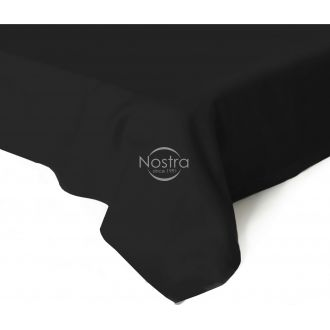Flat sateen sheets 00-0055-BLACK