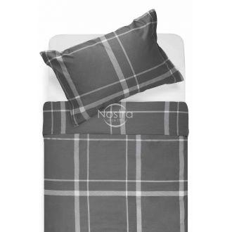 Sateen bedding set ADALWOLFA 30-0548-DARK GREY