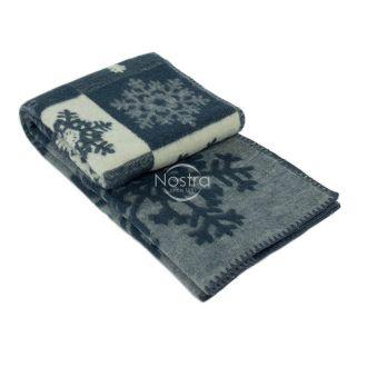 Blanket MERINO 80-3128-BLUE