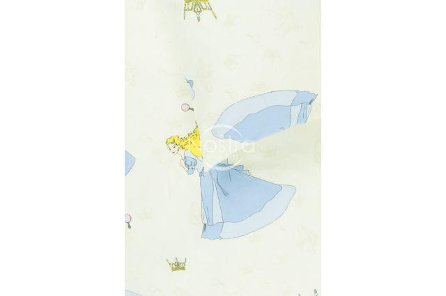 vaikiska medvilnine melyna patalyne su princesemis